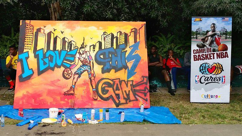 Ruth Riley graffiti