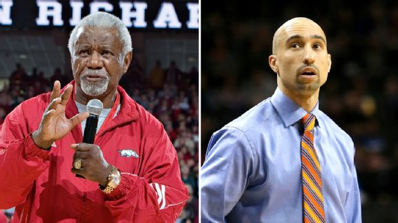 Nolan Richardson and Shaka Smart