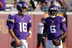 Matt Cassel, Teddy Bridgewater