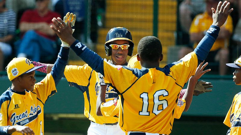 Cheers to you, Pierce Jones, Jackie Robinson West and Taney Little League. Keep on doing what you're doing.