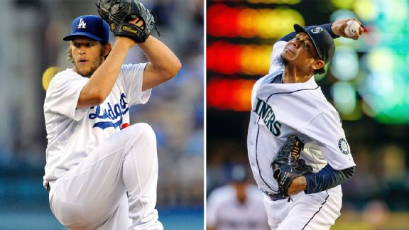 Clayton Kershaw and Felix Hernandez