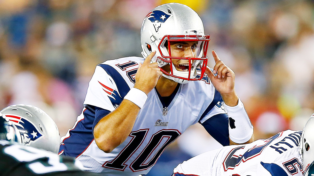 New England Patriots will start Jimmy Garoppolo in ...Jimmy Garoppolo Patriots