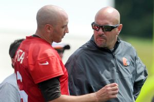 Brian Hoyer and Mike Pettine