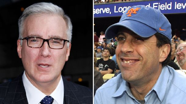 Keith Olbermann and Jerry Seinfeld