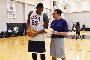 Andre Drummond, Coach K