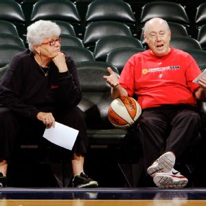Lin Dunn and Mike Thibault