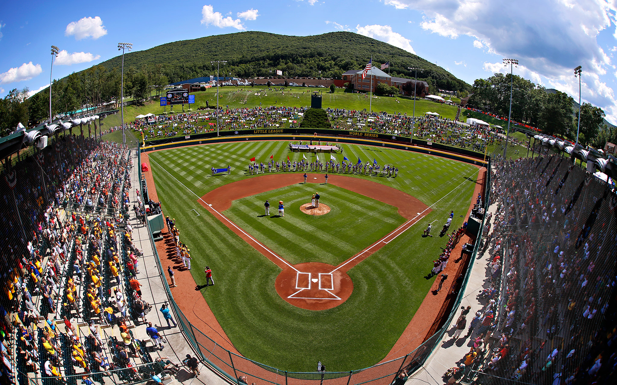 Thousands of family members, volunteers and fans converged on South Williamsport, Pennsylvania, for the 75th annual Little League World Series.