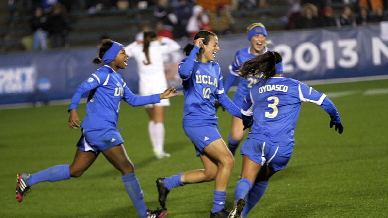 Kodi Lavrusky (No. 10) scored to give UCLA its first national championship, capping one of the great tournament runs ever.
