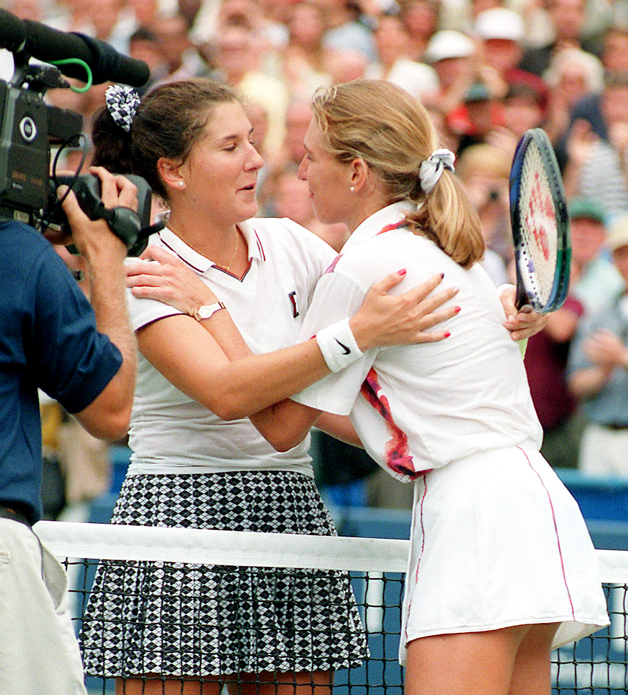 Monica Seles Steffi Graf s Memorable US Open Moments ESPN