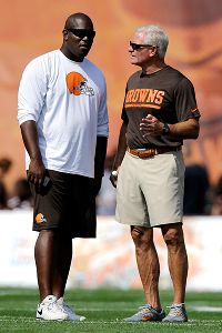 Jimmy Haslam and Ray Farmer