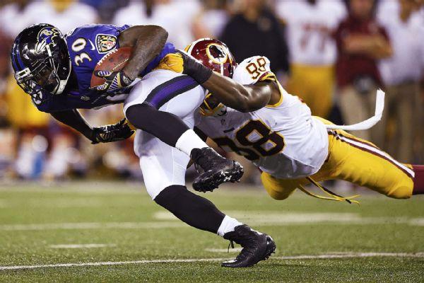 Pierce of baltimore ravens going through concussion protocol espn