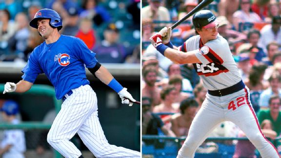 Kris Bryant and Ron Kittle