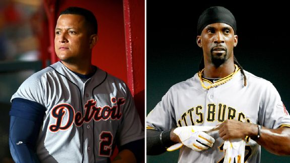 Miguel Cabrera and Andrew McCutchen