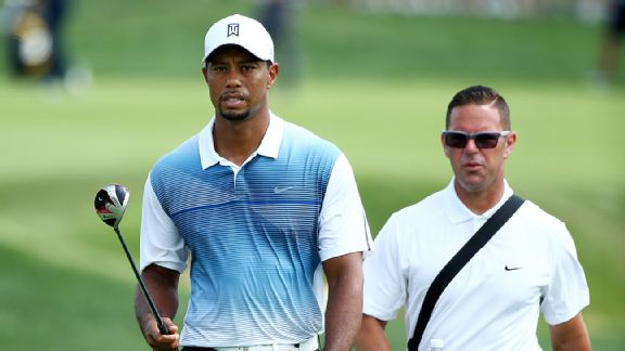 Tiger Woods y Sean Foley