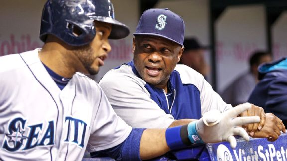 Robinson Cano and Lloyd McClendon