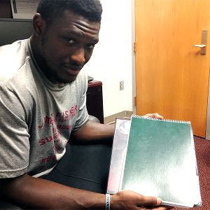 Karlos Williams' notebook