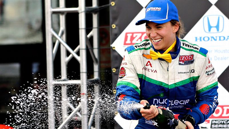 De Silvestro, 25, left IndyCar after her best season in 2013 -- including her first podium finish -- to sign with Sauber as an apprentice hoping for a crack at Formula One racing. She's competing with four other drivers for two seats in 2015. According to media reports in the Netherlands, however, a deal is virtually done to bring Sauber reserve driver Giedo van der Garde onto the grid because of his sponsor's ability to alleviate the team's financial distress. That would leave just one seat available.