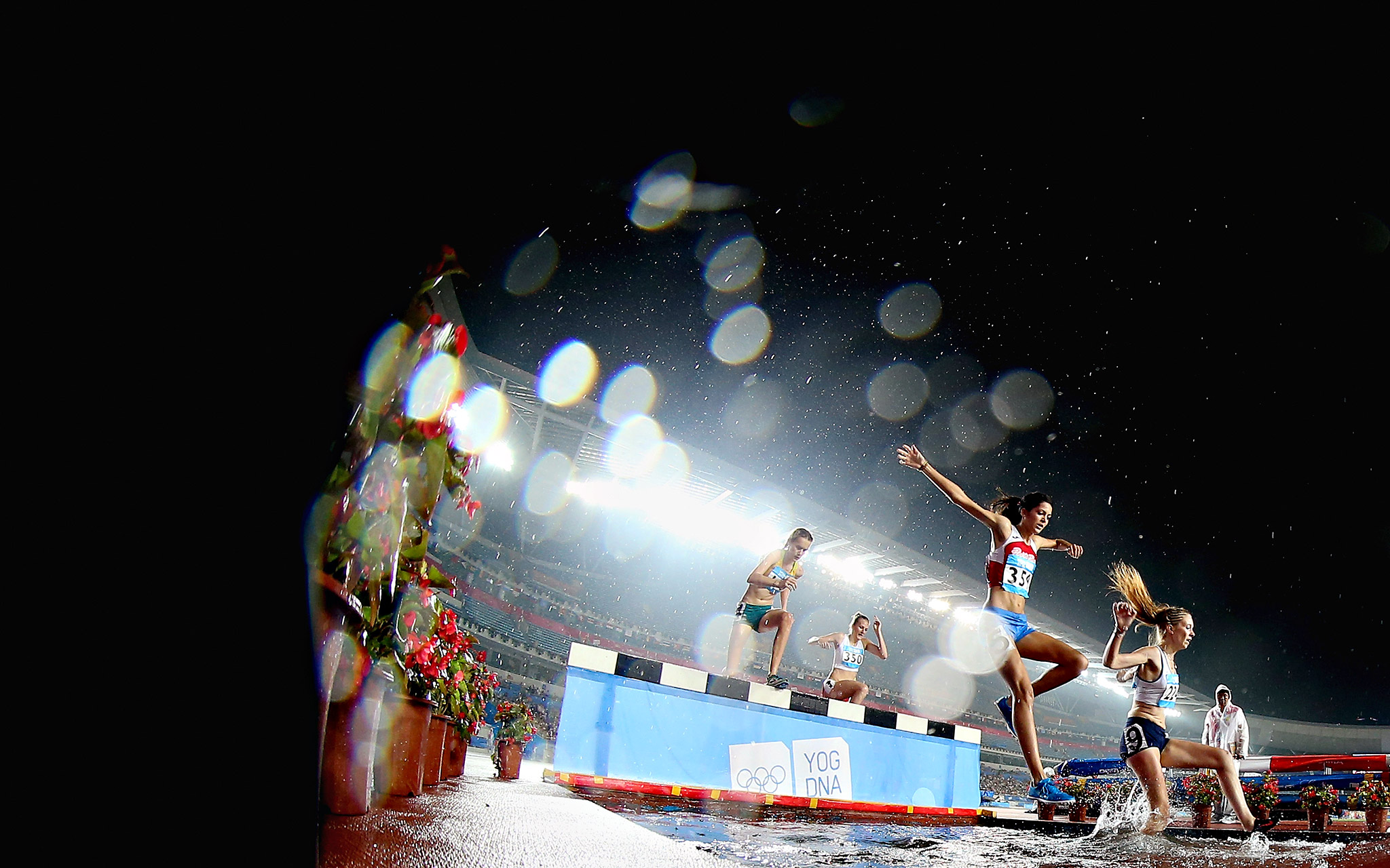 The second Summer Youth Olympic Games made a splash at the Nanjing Olympic Sports Center in China.