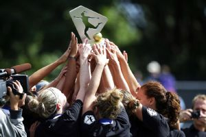 When it was said and done on Sunday, FC Kansas City players hoisted the NWSL championship trophy.