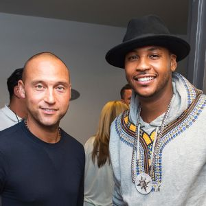Derek Jeter and Carmelo Anthony