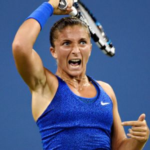 Sara Errani made it to two Grand Slam quarterfinals this year but won just  five games in the two losses.