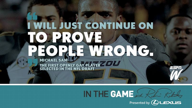 Michael Sam quote tile
