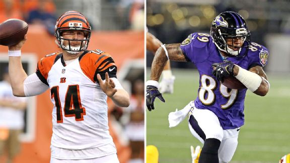 Andy Dalton and Steve Smith