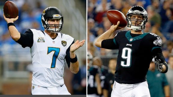 Chad Henne and Nick Foles