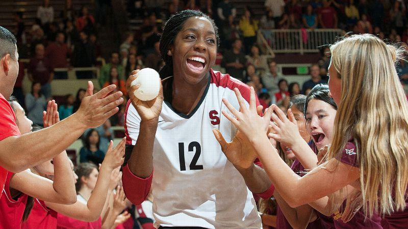 With a smile like that, is it any wonder Inky Ajanaku is such a fan favorite at Stanford?