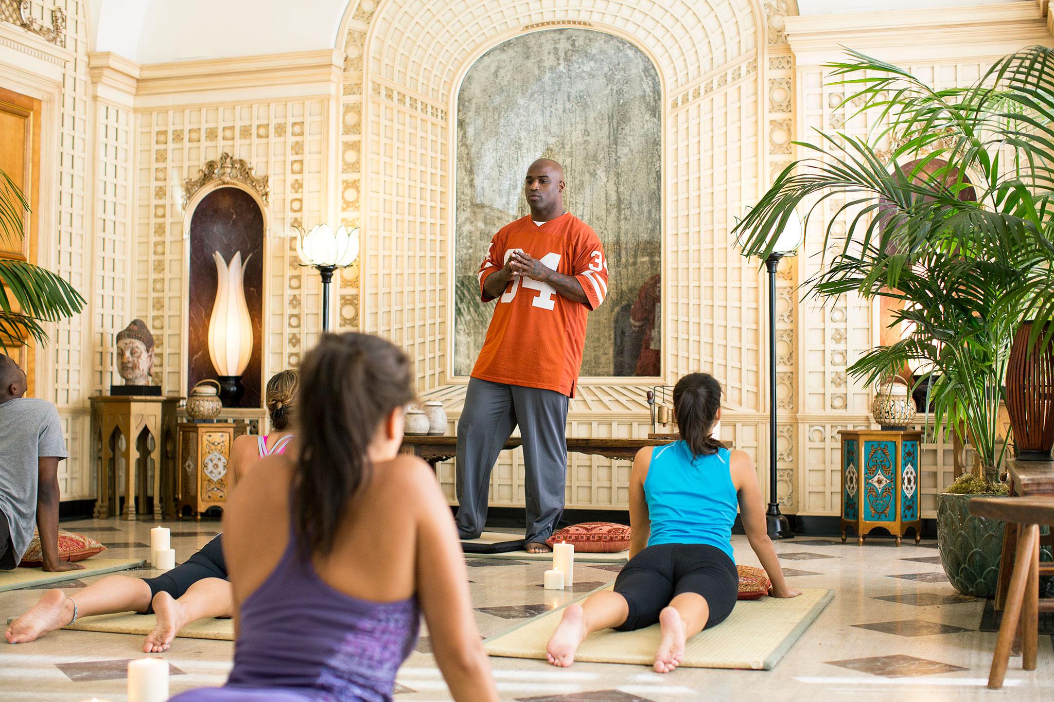 Hes No Yoga Poser Heisman House ESPN