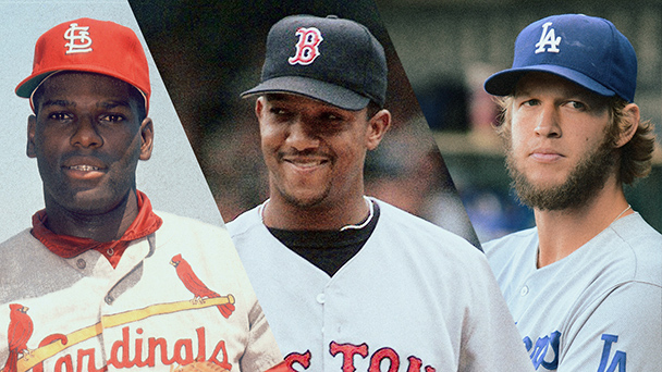 Bob Gibson, Pedro Martinez and Steve Carlton