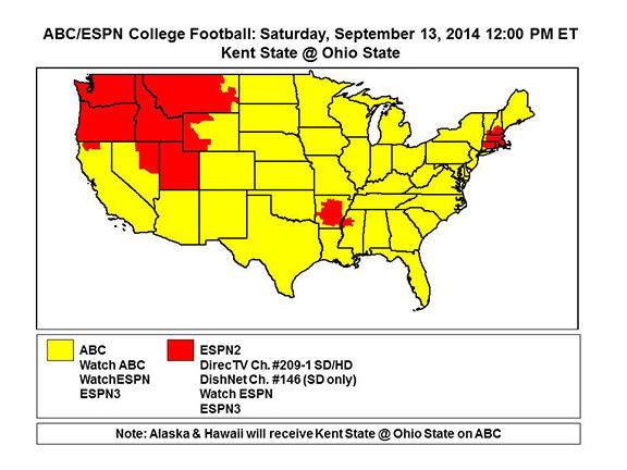 fox tv football schedule college football channels