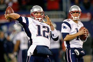 Tom Brady and Matt Cassel