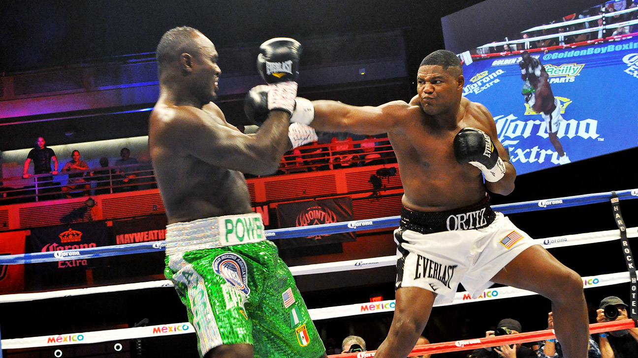 Luis Ortiz Boxer Heavyweight Luis Ortiz Tested