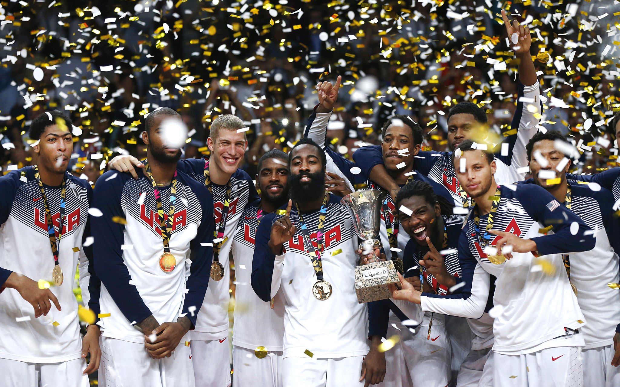 Celebration Time - Team USA Basketball - ESPN