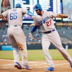 Puig Kemp Dodgers