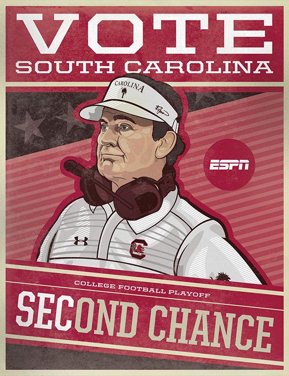 South Carolina poster