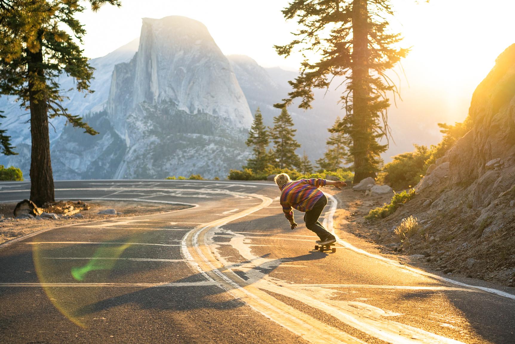 Anders Johnson, Yosemite, California