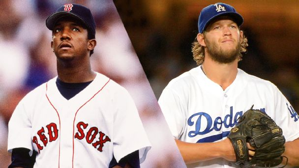 Pedro Martinez and Clayton Kershaw