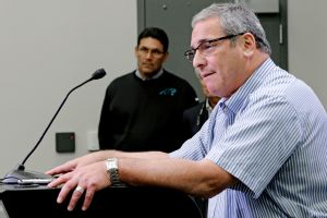 Panthers general manager Dave Gettleman