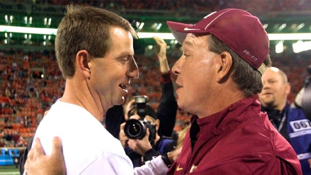Dabo Swinney, Jimbo Fisher