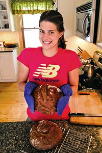 Sarah Groff is a big fan of homemade bread -- and loves her sourdough starter like she loves her own dog.
