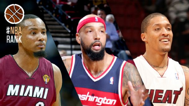 Rashard Lewis, Drew Gooden and Michael Beasley
