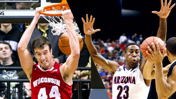Frank Kaminsky, Rondae Hollis-Jefferson