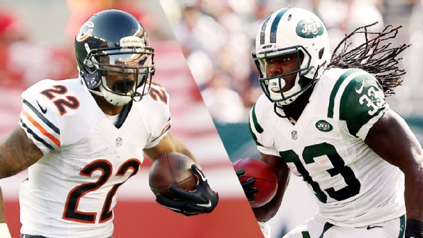 Matt Forte, Chris Ivory