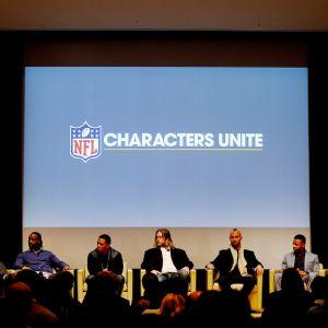 NFL Characters Unite