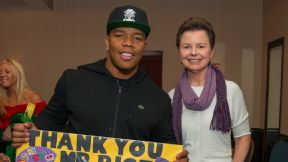 Ray Rice charity check