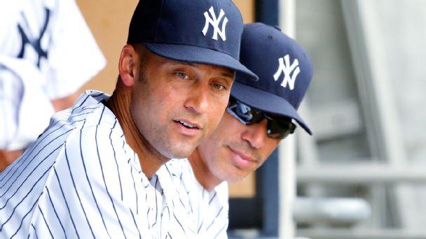 Derek Jeter and Joe Girardi