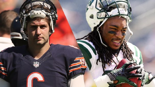 Jay Cutler and Calvin Pryor