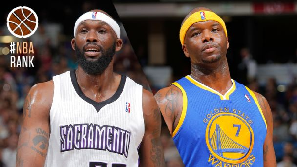 Reggie Evans and Jermaine O'Neal